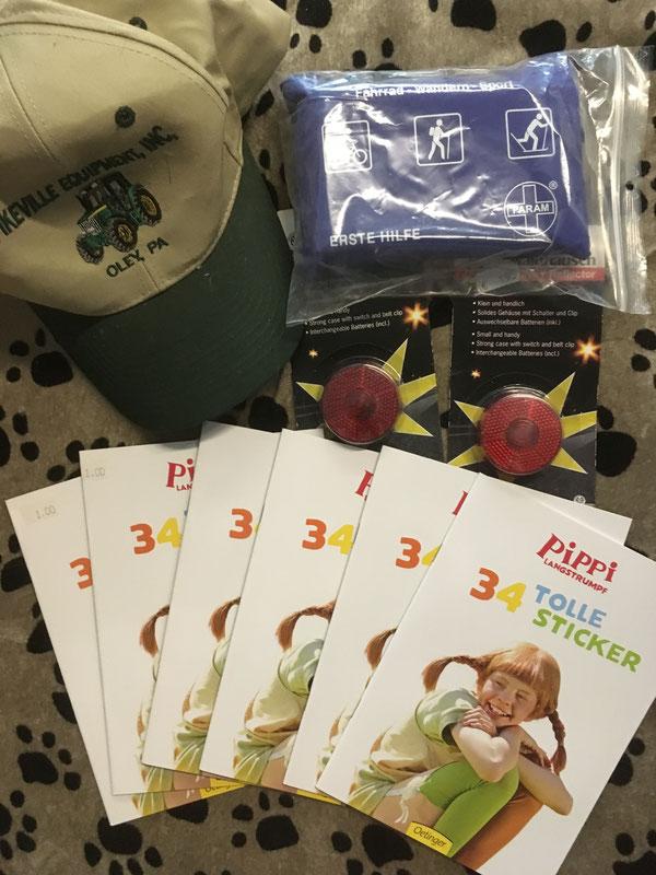 Kappe, Erste Hilfe Set, Blinkies Sticker-Bücher