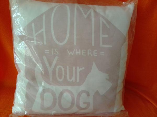 Kissen für Hundebesitzer    -  10 € + Versand