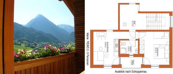 Ausblick von Ihrem Balkon