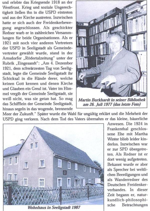 Bild: Teichler Seeligstadt Sachsen Burkhardt