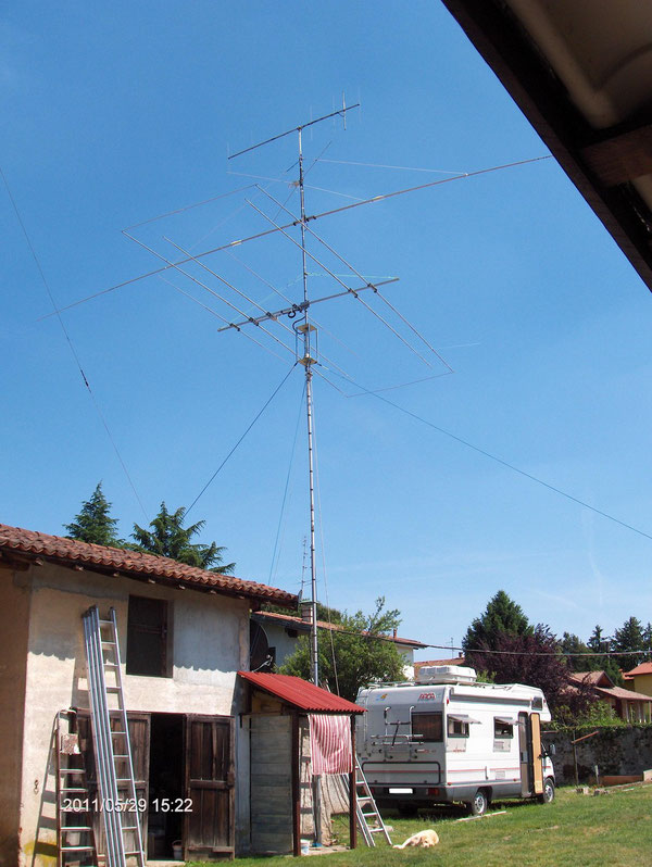 antenna installata completamente e funzionante al 100%