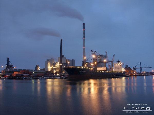 SWB Kraftwerk Industriehafen