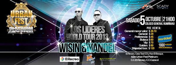 WISIN Y YANDEL EN ECUADOR