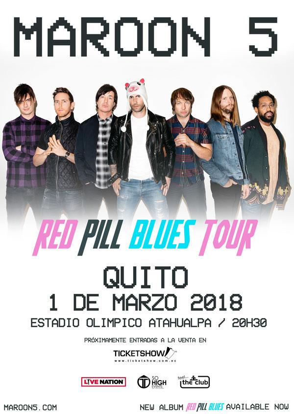 #Maroon5Ecuador #Maroon5 #Quito #Ecuador #SoHighEvents #F