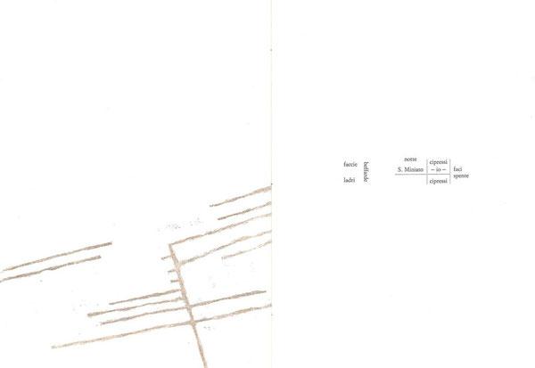 incisione originale di Paolo Cabrini (particolare) e pagina tipografica