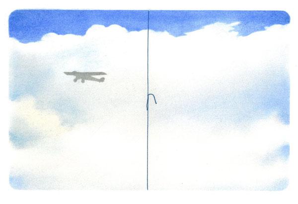 intervento originale dell'autore a doppia pagina