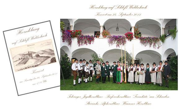 Hornkonzert Schoß Waldschach 2011