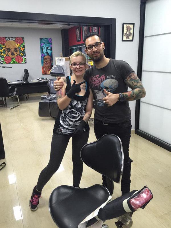 Pia Vegas und Fernando Bisceglia