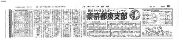 東京都東支部1年生大会記事2012-11-12