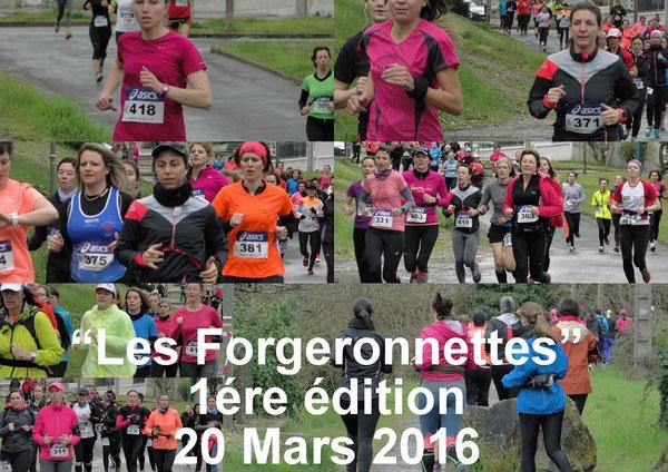 Les Forgeronnettes en plein action à 1,5km du départ....  par Fran6