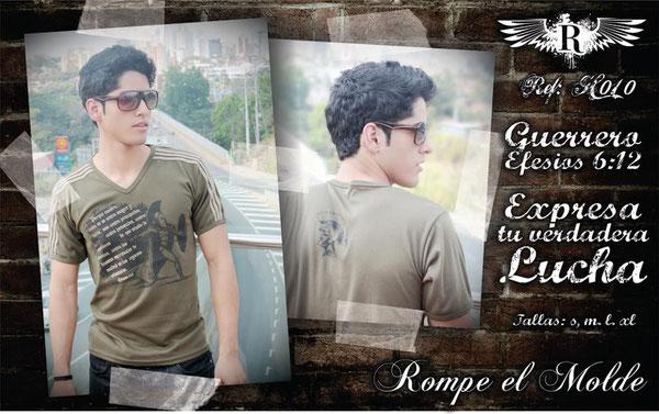 Camiseta Cristiana - Guerrero