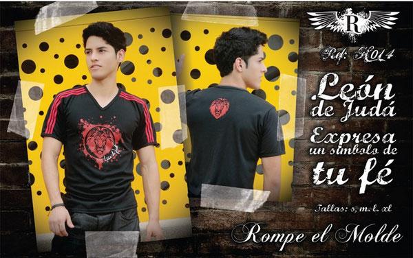 Camiseta Cristiana - León de Judá