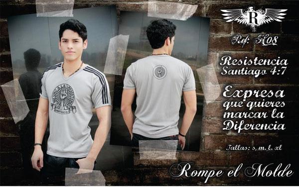 Camiseta Cristiana - Resistencia
