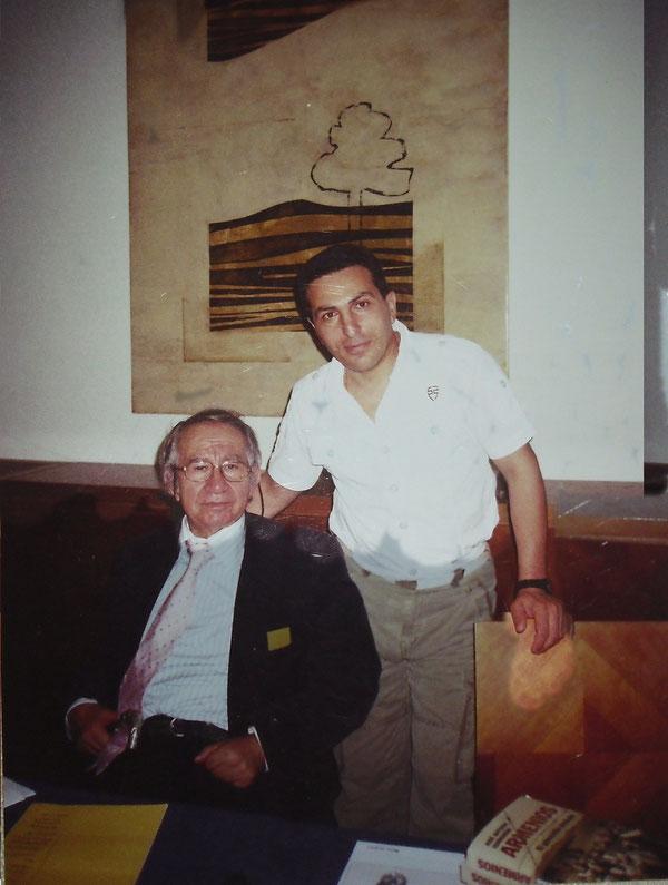 José Antonio Gurriarán y autor de libro ,,Diario de Patriota