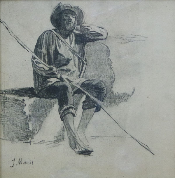 te_koop_aangeboden_een_houtskooltekening_van_jacob_maris_1837-1899_haagse_school