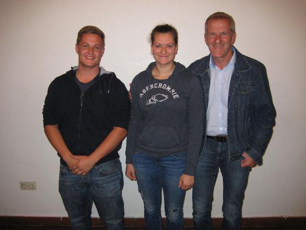 Die JVP-Obleute und Franz Kummer