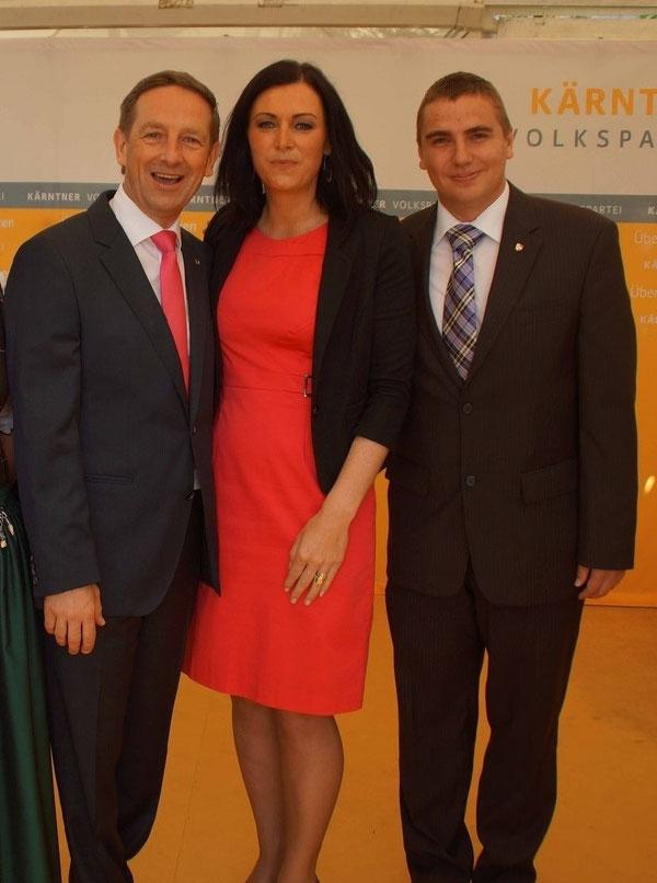 LR.Christian Benger, MEP. Elli Köstinger & GR. Roman Wutte