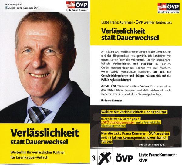 Liste Franz Kummer-ÖVP