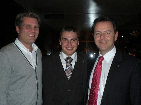 GS.Rauch, Roman Wutte & BM a.D.Niki Berlakovich