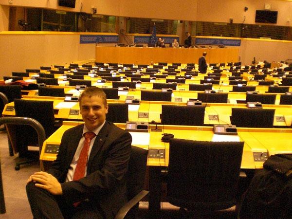 Probesitzen im EU-Parlament