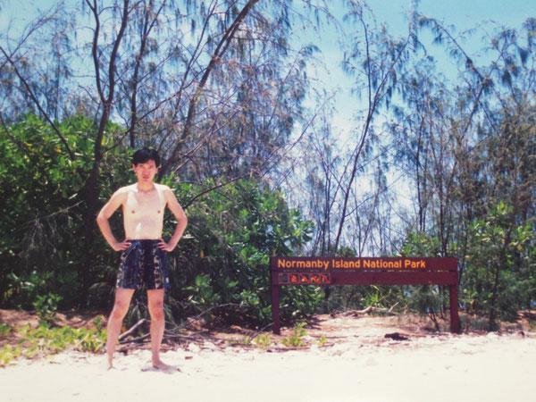 15年前のノーマンビー島での写真