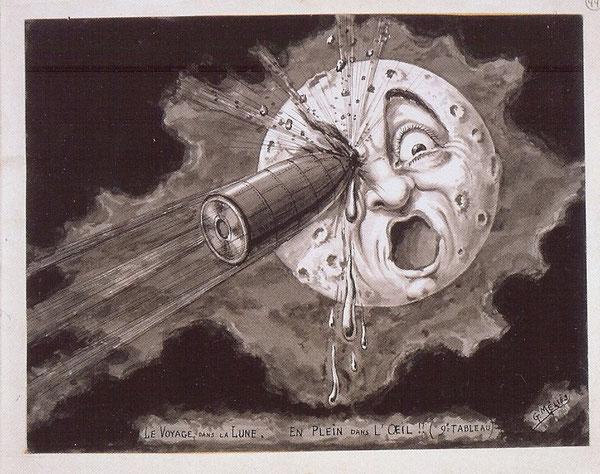 Le voyage dans la lune, 1902.