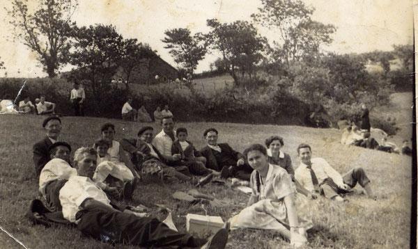 Gente de Vío en fiesta de Sta. María