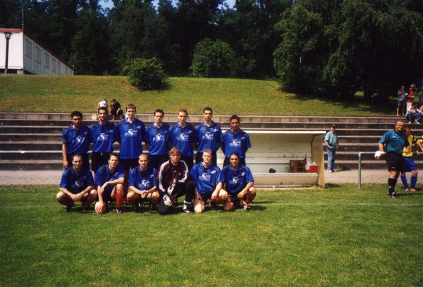 Sportvg II - Saison 2001/2002