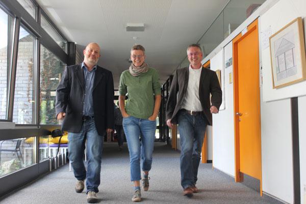 Von links: Heiko Renner, Sabine Diekmann und Stephan Hiller