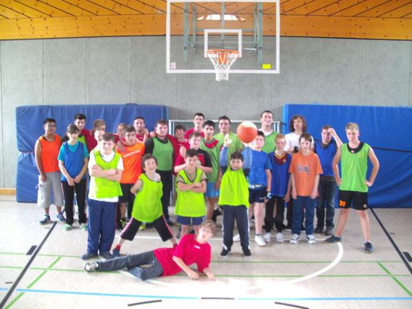 Basketball-Spiel Eduard-Spranger-Schule / Esther-Weber-Schule