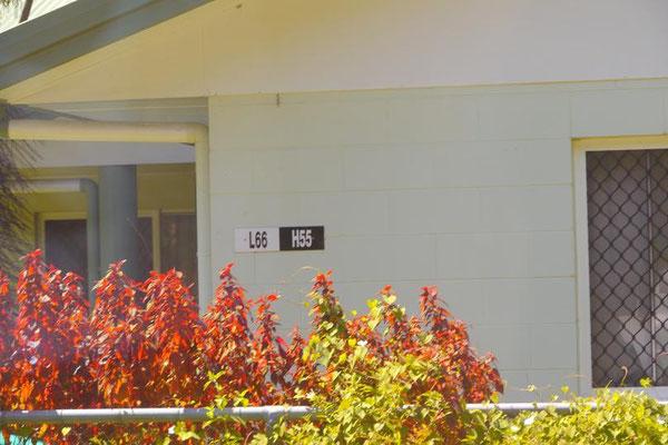 それぞれの家にはこのような表札代わりの通し番号が割り当てられていた。