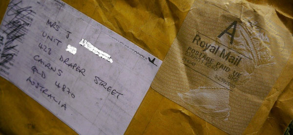 Royal Mail  Postage Paid UK 23/09/11