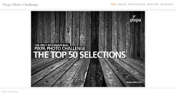 PIXPA PHOTO CHALLENGE Among the Top 50
