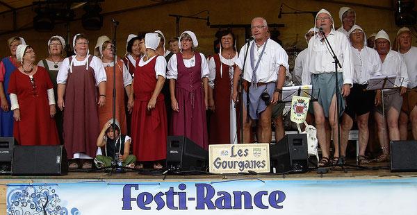 Festi-Rance. Les Gourganes. Chants de marins.