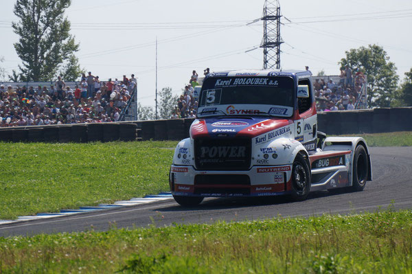 №5. Гонщик: DAVID VRSECKY. Команда: BUGGYRA INTERNATIONAL RACING SYSTEM. Грузовик: FREIGHTLINER