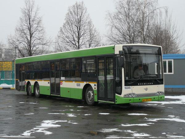 """Автобусный завод """"Волжанин"""", входящий в данный момент в холдинг """"Volgabus"""", начал свою историю с 1993 года. В производственной линейке завода присутствуют как городские, так и междугородные автобусы. Волжанин СитиРитм-15 (мод. 627006). Москва, АП-16."""
