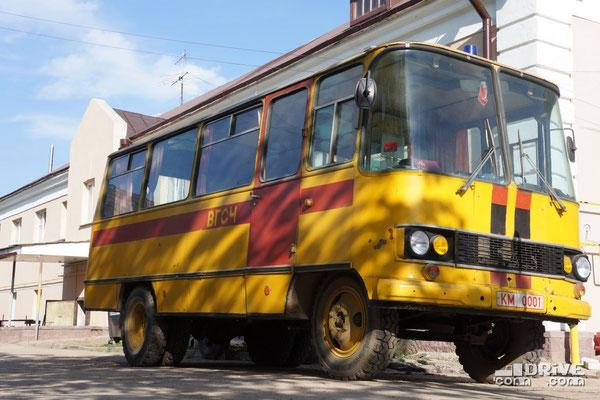 Автобус ВГСЧ 53Г1. Военизированная горноспасательная часть. Минск, ул. Железнодорожная. 04/05/2012
