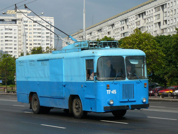 КТГ-1. Минск, пр-т Независимости. 15.06.2009