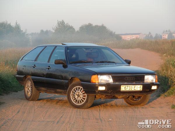 Audi 100 Avant Qattro.