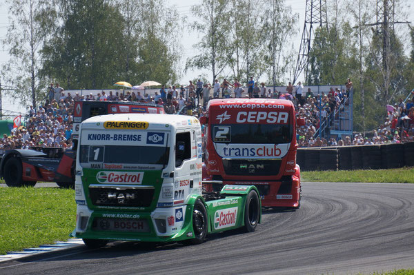 TBR 2010: 1-е место (53 очка). TBR 2011: 1-е место (46 очков). FIA ETR Championship 2012: 1-е место (331 очко)