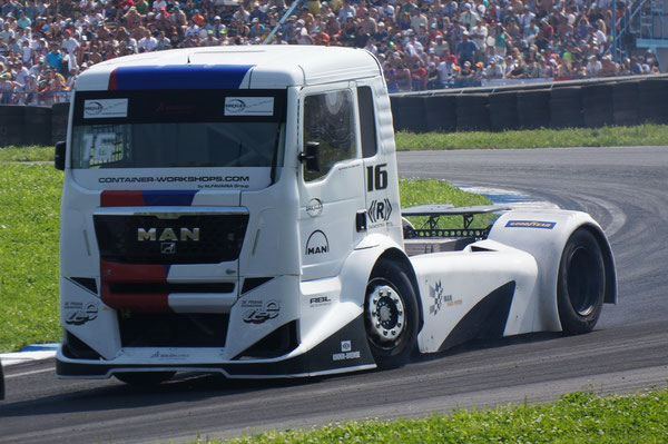 №16 Гонщик: FRANKIE VOJTISEK (51 год) Команда: FRANKIE OXXO TRUCK RACING TEAM Грузовик: MAN. Участок Т11