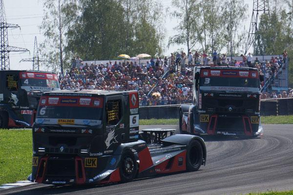 TBR 2010: 6-е место (23 очка). TBR 2011: 3-е место (35 очков). FIA ETR Championship 2012: 6-е место (165 очков)