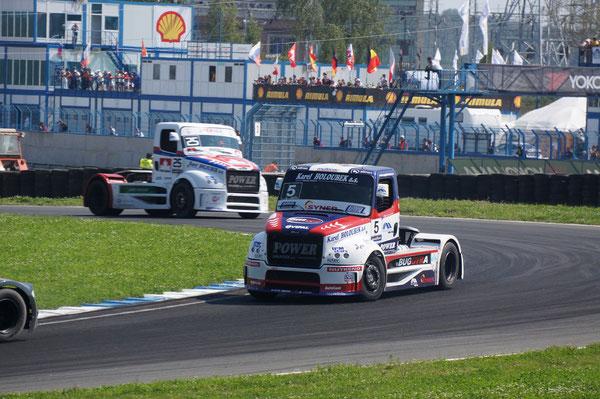TBR 2010: 3-е место (36 очков). TBR 2011: 2-е место (38 очков). FIA ETR Championship 2012: 5-е место (189 очков).