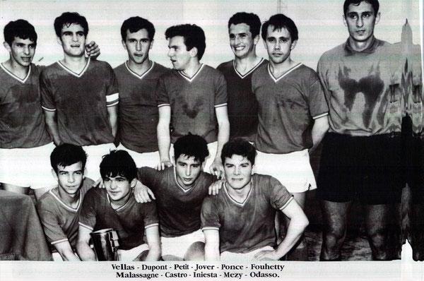 Vainqueur Coupe Gambardella 3 à 2 contre Toulon