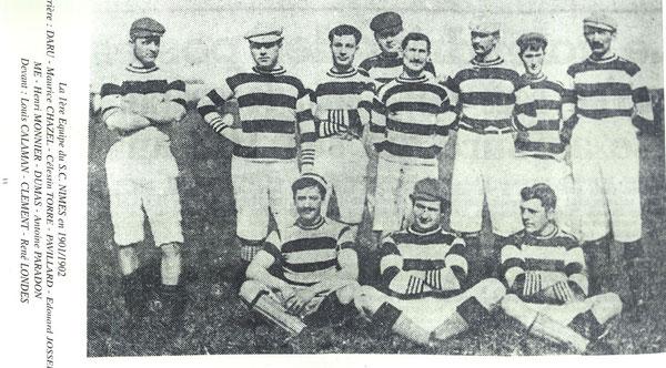 La première équipe du Sporting