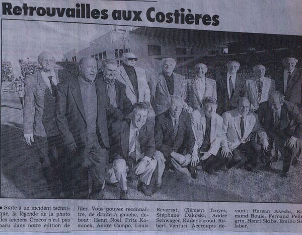 60 ans de Nîmes Olympique