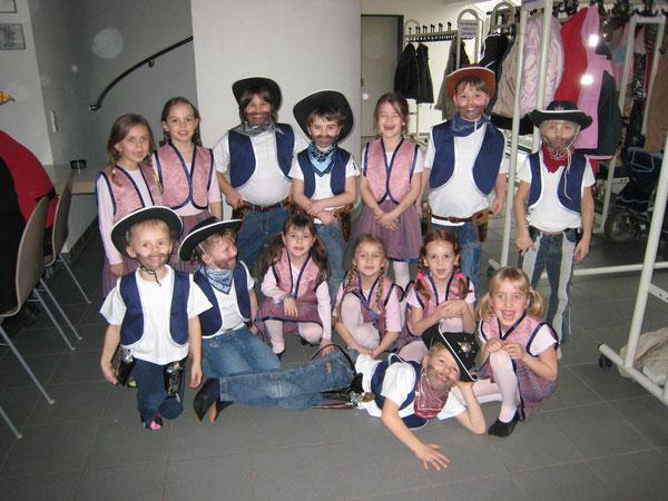 Saison 2006/2007 Freche Früchtchen Motto: Cowboy