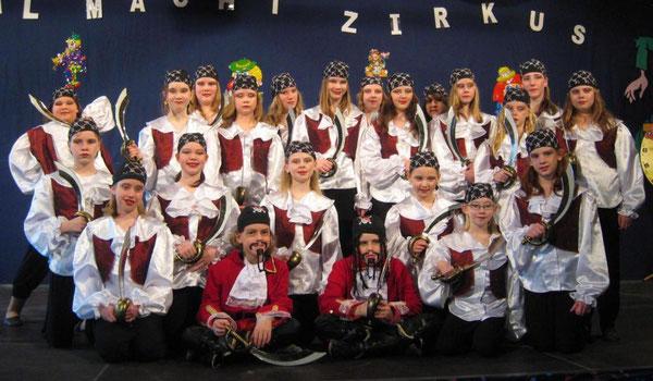 Saison 2010/2011 Fesche Teens Motto: Piraten