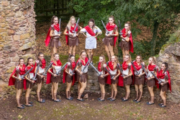 Saison 2016 Magic Xpression Motto: Cäsars Gladiatoren