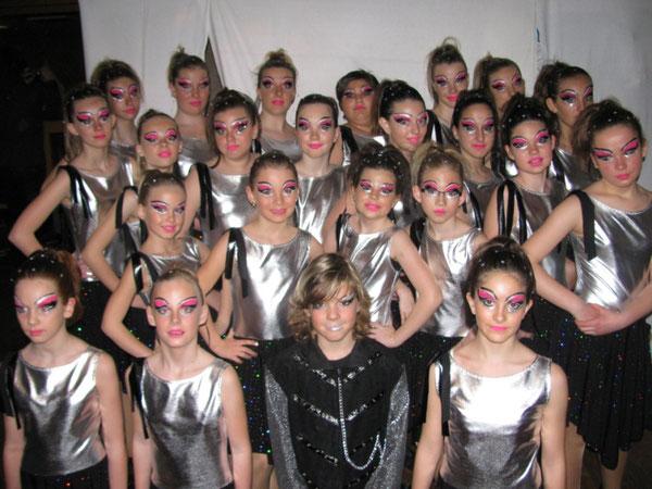 """Saison 2011/12 Fesche Teens Motto """"Discotime"""""""